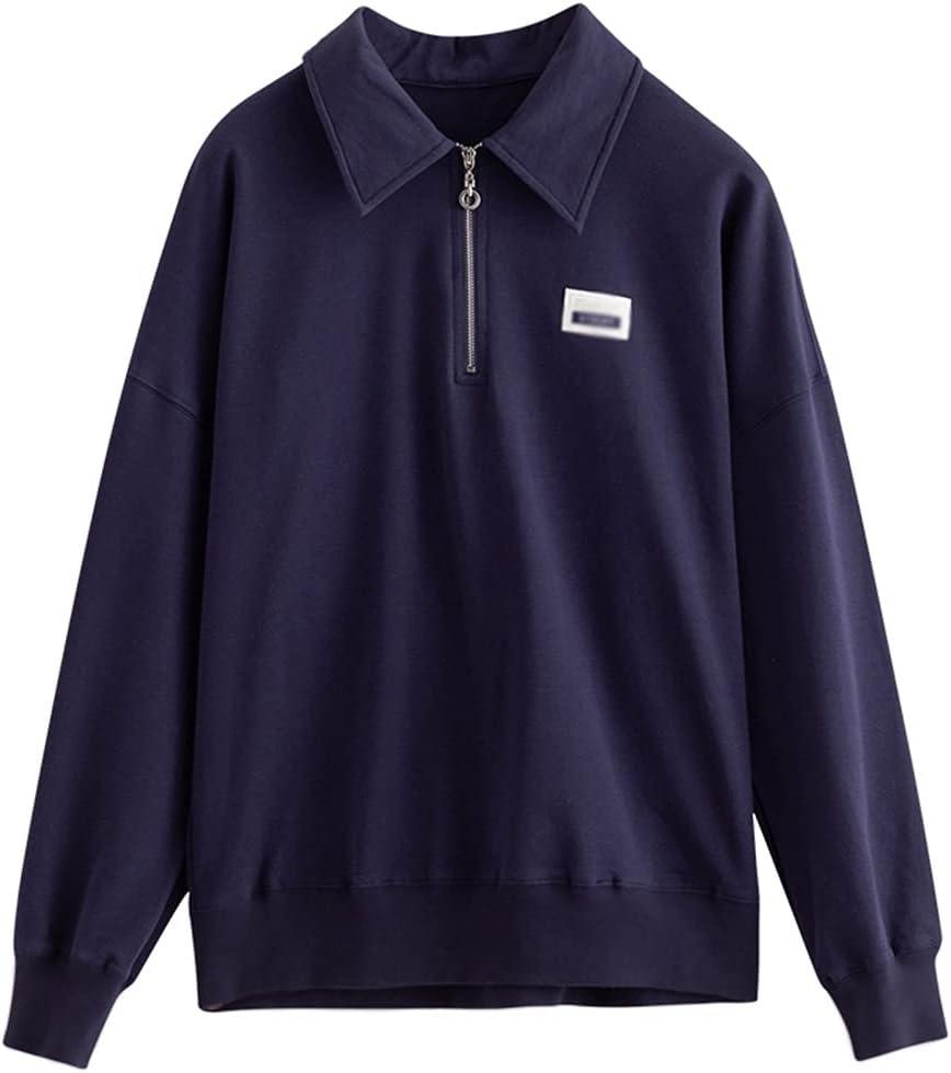 STRAW Sweatshirt Sacramento Mall for Women Fashion Credence Print Zipper Ca Lapel Hoodies