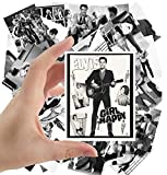 Large Stickers (24pcs 2.5'x3.5') Young ELVIS Rare Photos Rock Music Posters Photos Vintage Magazine covers