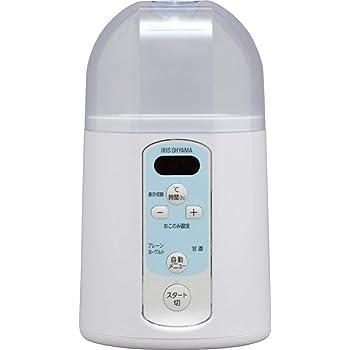 アイリスオーヤマ ヨーグルトメーカー 温度調節機能付き ホワイト IYM-014