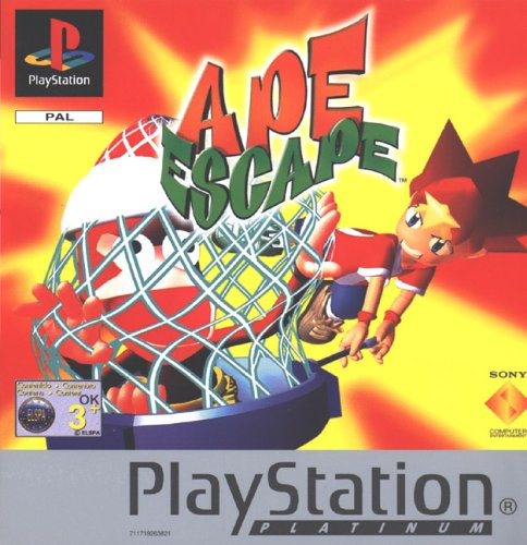 Ape Escape - Platinum (PS) [Importación Inglesa]
