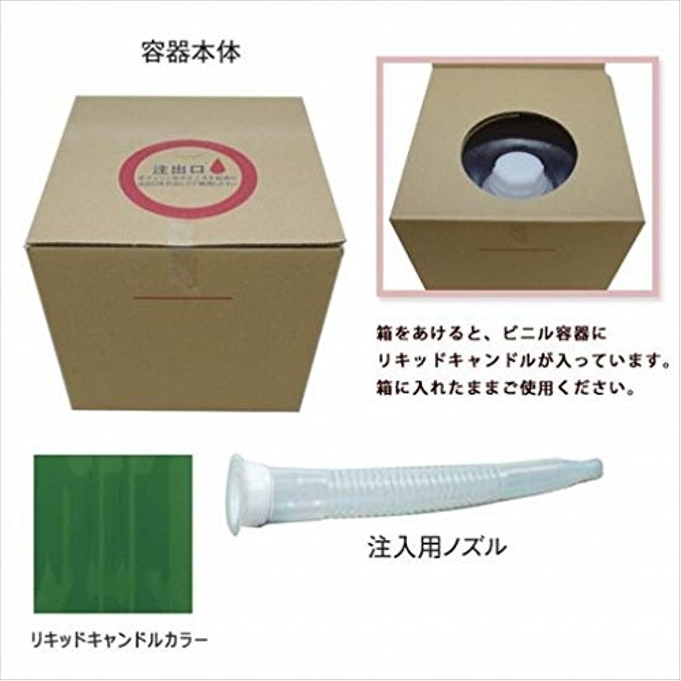 役立つ凝縮するハブカメヤマキャンドル(kameyama candle) リキッドキャンドル5リットル 「 グリーン 」