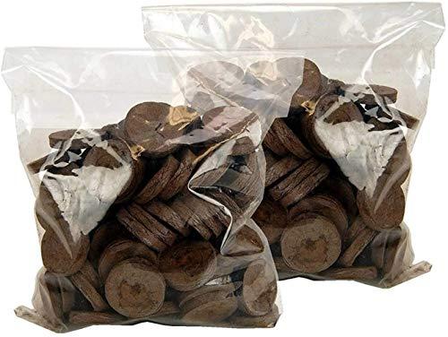 100 Jiffy 7 Peat Pellets 42mm - Seeds Starting - Jiffy Peat Pellet Helps to Avoid Root Shock - 100 Jiffy Peat Pellets 42mm (1)