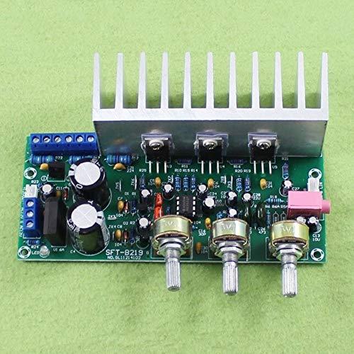 HDHUA accessoires voor veranderen TDA2050 TDA2030 + 2.1 subwoofer driekanaals versterkerplaat klaar plaat voet Gun 60W
