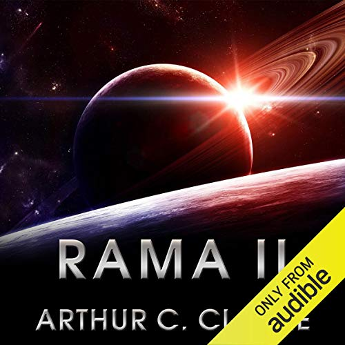 Rama II     Rama Series, Book 2              Written by:                                                                                                                                 Arthur C. Clarke                               Narrated by:                                                                                                                                 Toby Longworth                      Length: 15 hrs and 21 mins     22 ratings     Overall 4.2