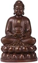 Meditating Buddha Peace Harmony Statue,Buddha Statue for Zen Home Decor,Sitting Buddha Gifts Decoration Brown A 25.6inch