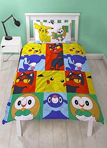 New Pokemon'Newbies' Single Duvet Cover Set
