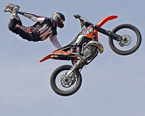 Partylandia Shop CIALDA PER TORTE Motocross Freestyle OSTIA MOTO DECORAZIONI TORTA