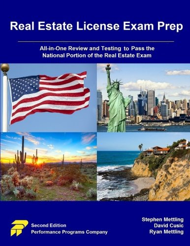 Download Real Estate License Exam Prep: All-in-One Review and Testing to Pass the National Portion of the Real Estate Exam 0915777037