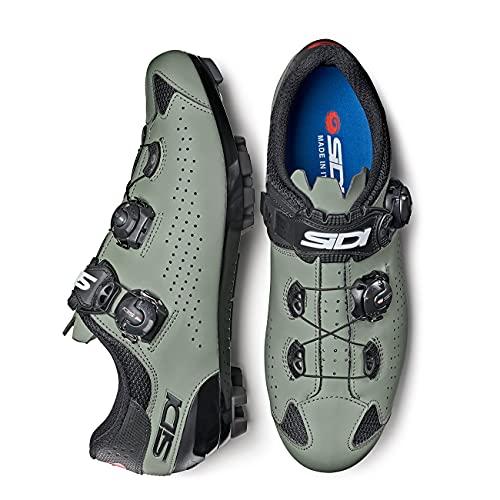 SIDI Zapatillas MTB Eagle 10 ED.Limit.NEG/Ver, Scarpe da Ginnastica Unisex-Adulto, Ne Vedere, 44 EU
