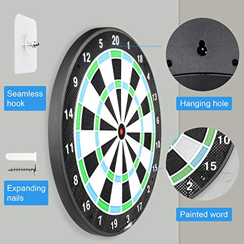 CyeeLife Sports-18in Dart-Board...