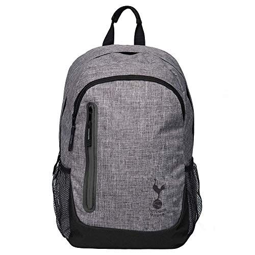 FOCO Football Club Premium Heather Grey Laptop Backpack Premier League and La Liga (Tottenham Hotspur)