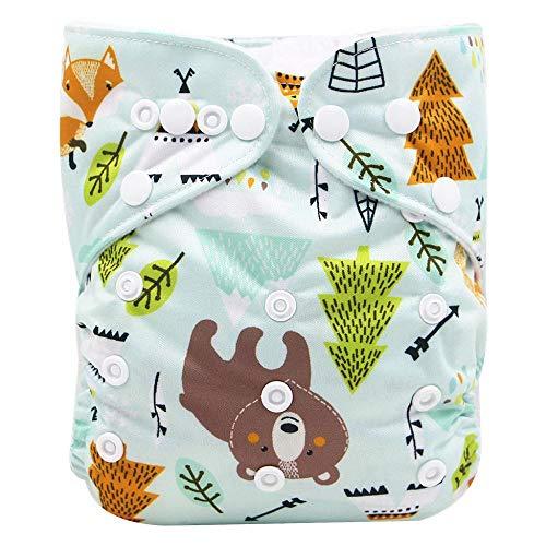 VJGOAL Niños Pañales Braguitas de Aprendizaje Ajustables Pantalones de Entrenamiento Reutilizables Lavable Bragas Ropa Interior de Bebés