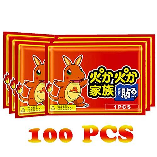 YYBF Hot Mani Scaldapiedi/Scaldamani/Tasca Portatile/Value Pack 100 Pc/Regalo di Inverno per Le Donne