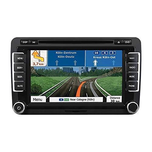 ESX Naviceiver VN735-VO-U1 Radio Navigation inkl DAB Modul passend für VW Tiguan 2007-2011