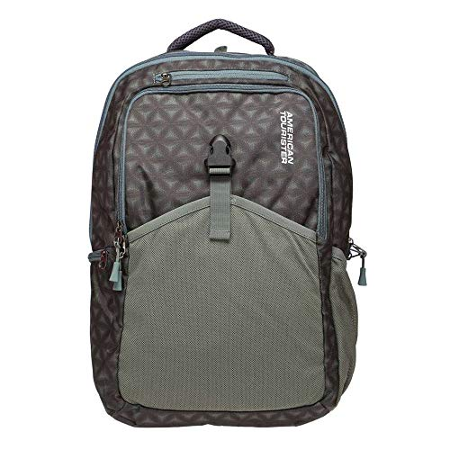 American Tourister 25 Ltrs Green Laptop Backpack (GH5 (0) 24 002)