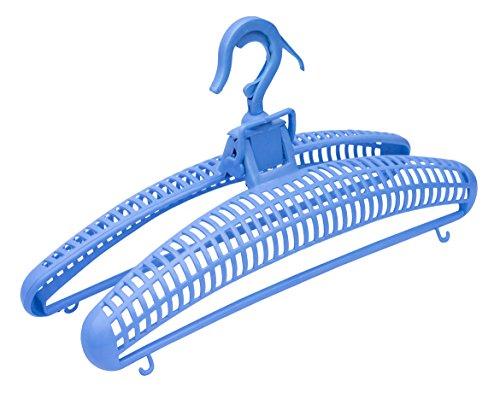 UPP Trockner-Bügel ausziehbar & windsicher I Trocken Bügel für platzsparendes Wäsche Aufhängen I Luft-Trockner-Bügel Lassen Ihre Wäsche schneller trocknen [2 STK.]