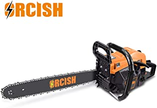 ORCISH 62cc 2-Cycle 20-Inch Gas Powered Carrying Case Chainsaw