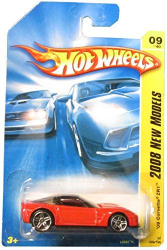 Hot Wheels 2008 New Models Corvette ZR1 ZR-1 Red