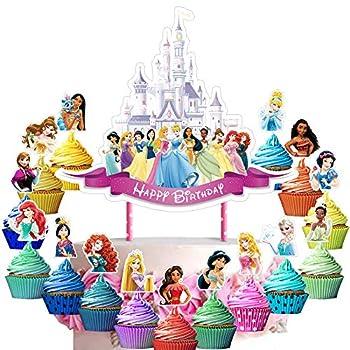 Best princess cake decorations Reviews