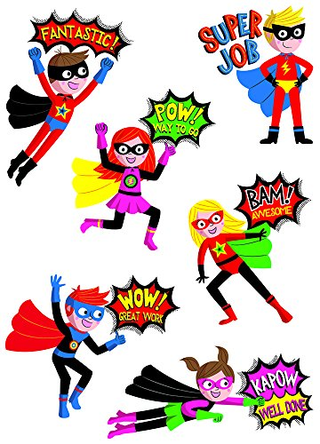 Creative Teaching Press Superhero Reward Stickers (4402) by Creative Teaching Press