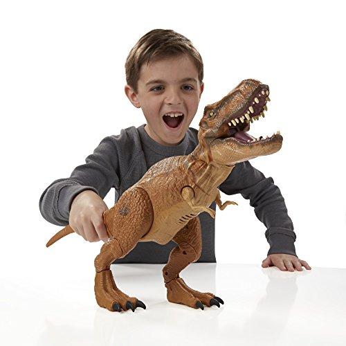 Jurassic World, Stomp and Strike Tyrannosaurus Rex T- Rex Action Figure