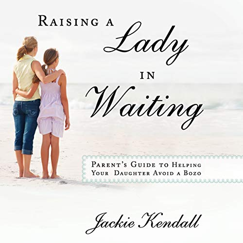 Raising a Lady in Waiting audiobook cover art