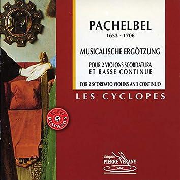 Pachelbel : Musicalische Ergotzung pour 2 violons & basse continue