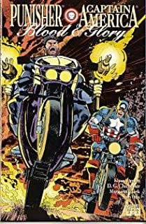 punisher and captain america blood and glory
