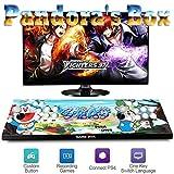 ZQYR# Pandora's Box 4000 Giochi Classici 3D Arcade Game Console, Joystick 2 Giocatori Video Games Plug & Play, 1280x720, Pulsante Personalizzato, Alimentazione HDMI e VGA e Uscita USB, GM4201407