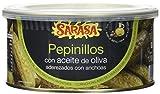 Sarasa Pepinillo Anchoa en Aceite - Paquete de 6 x 1000 gr - Total: 6000 gr...