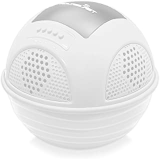 Portable Waterproof Floating Pool Speaker - Outdoor Wireless Bluetooth Compatible Rechargeable Battery Powered Shower loud... photo