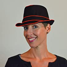 Lumio Designs Light up Large Fedora with EL Wire Makes You The hit of The Evening