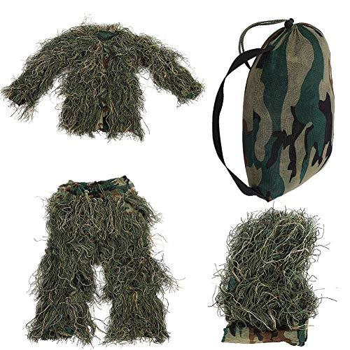 Bnineteenteam kleding camouflage pak voor kinderen jungle, schieten, dierfotografie, Halloween