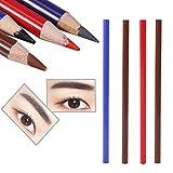 Fodera per il tatuaggio del labbro del sopracciglio 4Color che posiziona la matita impermeabile di trucco permanente di Microblading(4pcs)