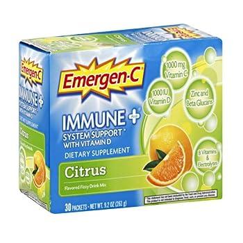 EMERGEN-C EMERGEN C Immune + Citrus - 11.2 OZ