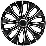 Jeu d'enjoliveurs Voltec Pro 16-inch noir/blanc