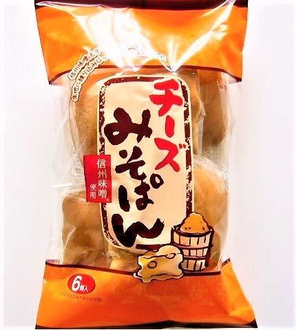 日新堂 チーズみそぱん 6個入×12袋