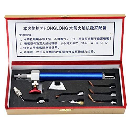 SNOWINSPRING Schmuck Werkzeug Wasser Sauerstoff Schweiss Brenner mit 5 Tipps Schmuck Wasser Stoff Ausruestung Gold Schmiede Werkzeuge