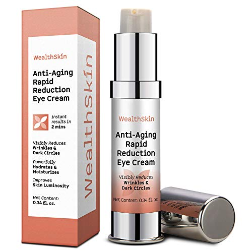 Anti-Aging Rapid Reduction Eye Cream Visibly Reduce Under- Eye Bags, Wrinkles, Dark Circles, Fine Lines & Crow's Feet Instantly 2 minutes