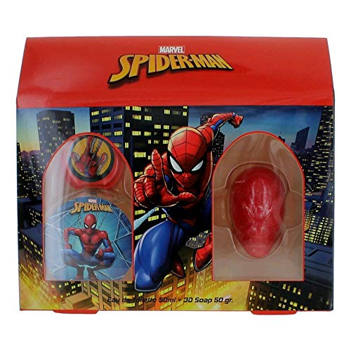Desire Parfum Caja de perfume (50ml) y jabón 3D (80gr) - Spiderman 475.999999999998 g