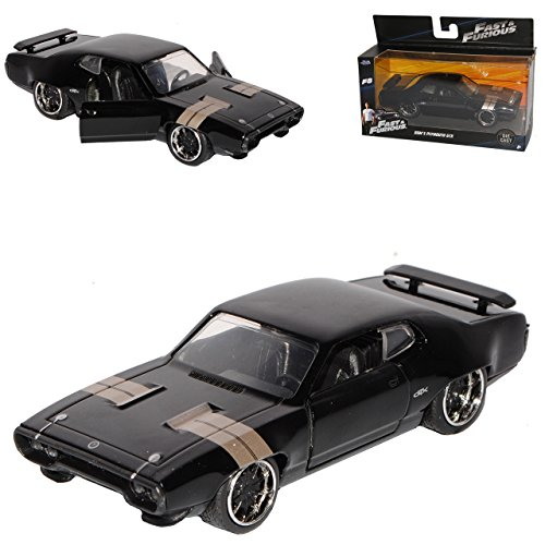 Plymouth GTX Fast 8 Dom Dominik Toretto The Fast and The Furious 1/32 Jada Modell Auto
