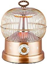 CARWORD Calentador De 900W Calentador Tubo De Fibra De Carbono Elemento Eléctrico Mini Calentador Personal Ventilador Protección contra Vuelcos Viento para Oficina Y Uso Doméstico