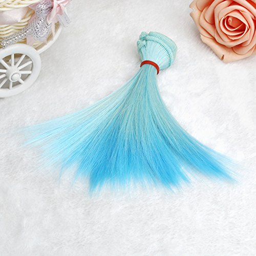 Little Story Fashion 15 cm Wholesale Straight Hair Hair DIY/BJD Wig Doll, Heat Resistant Synthetic Wig Womens Wigs Charming Natural Cosplay Party, The Most Suitable Gift