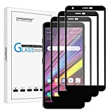 (3 Pack) Orzero Tempered Glass Screen Protector Compatible for LG Aristo 4 Plus, LG Arena 2, LG Prime 2, LG X2 2019, 9 Hardness HD Anti-Scratch Anti-Fingerprint Bubble-Free (Lifetime Replacement)