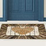 Shipenophy Tapis de Sol Anti-dérapant Tapis décoratif de Salle de Bain pour Salon(60 * 180CM)