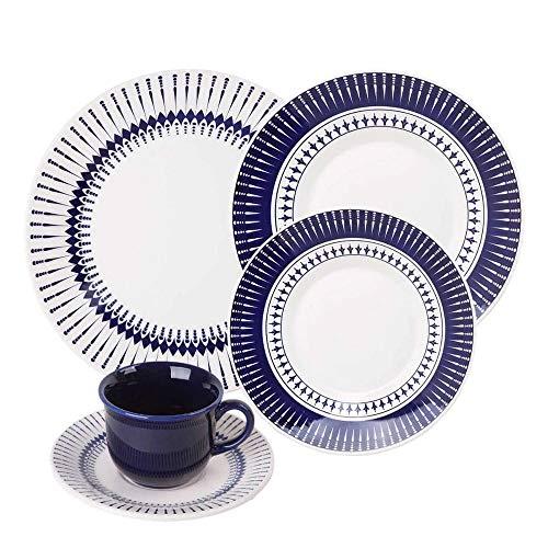 Conjunto Deunto de Jantar Biona Colb 20 Peças - N613-1645, Oxford