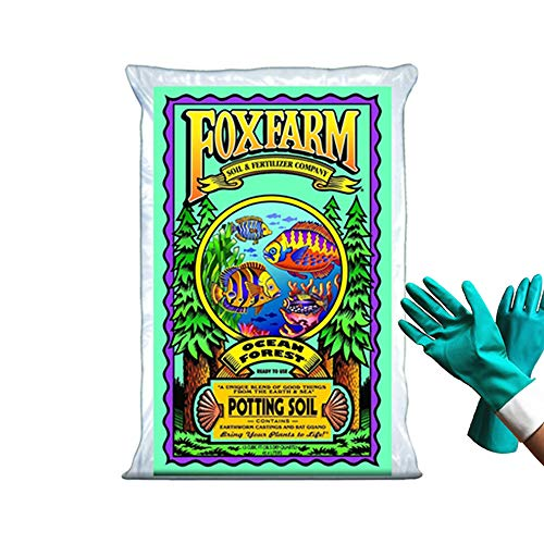 FoxFarm Ocean Forest Potting Soil Organic Mix Indoor Outdoor For Garden And Plants - Organic Plant...