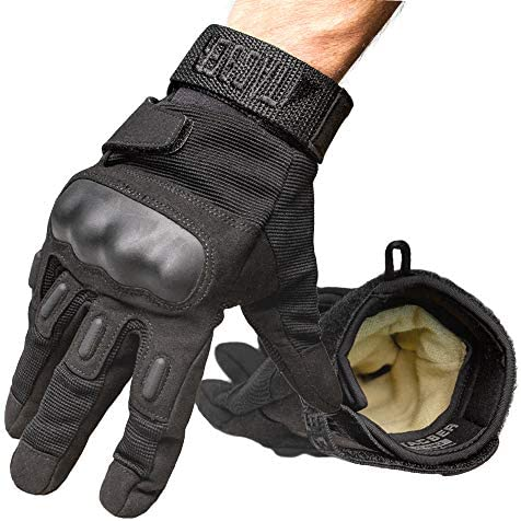 TAC9ER Kevlar Lined Tactical Gloves Full Hand Protection Cut and Temperature Resistant Touch product image