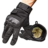 TAC9ER Kevlar Lined Tactical Gloves - Full Hand...