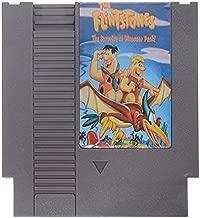 The Flintstones 2 - The Surprise at Dinosaur Peak 72 Pin 8 Bit Game Card Cartridge for NES Nintendo